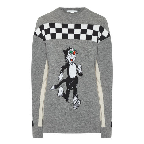 Dandy Print Sweater, ${color}