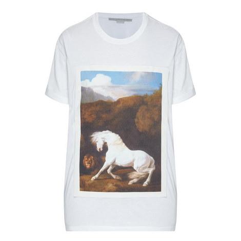 Horse Print T-Shirt, ${color}