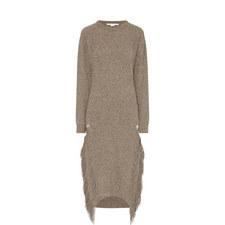 Knitted Fringe Dress
