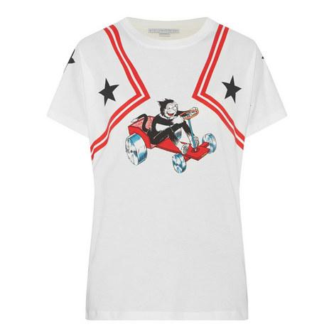 Cartoon Print T-Shirt, ${color}