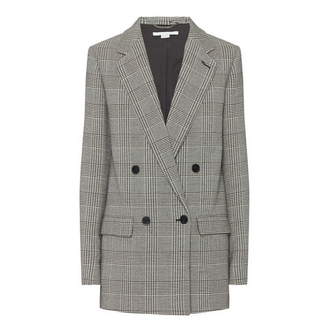 Milly Check Jacket, ${color}