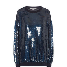 Ines Sequin Sweater
