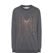 Glitter Sequin Sweatshirt