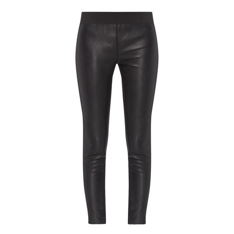 Second Skin-Free Leather Leggings, ${color}