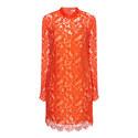 Lace Long Sleeve Dress, ${color}