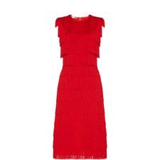 Sleeveless Fringe Dress
