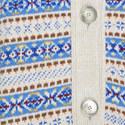 Long Multi-Stripe Cardigan, ${color}