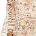 Lovelorn Floral Flutter Dress, ${color}