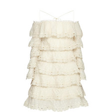 Painted Heart Love Mini Dress