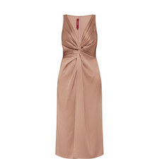 Mia Satin Twist Dress