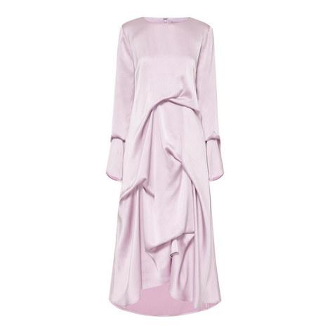 Naomi Draped Dress, ${color}