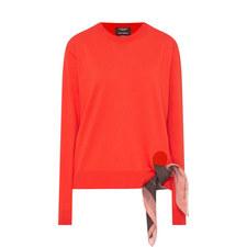 Tie Detail Knit Sweater