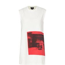 Graphic Print Shift Dress