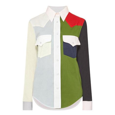 Colour-Block Shirt, ${color}