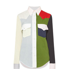 Colour-Block Shirt