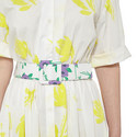 Tulip Belted Shirt Dress, ${color}