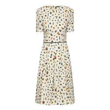 Crepe Obsession Print Dress