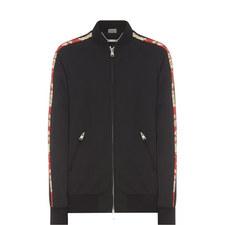 Side Stripe Bomber Jacket
