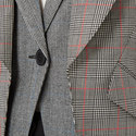 Double Lapel Check Jacket, ${color}