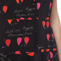 Petal Print Handkerchief Dress , ${color}