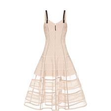 Lace Detail Bustier Dress
