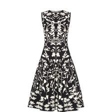 Intarsia Midi Dress