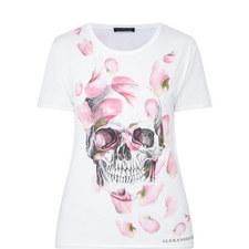 Petal Skull T-Shirt