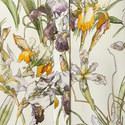 Wild Iris Scarf Detail Blouse, ${color}