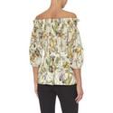 Floral Print Off-Shoulder Top, ${color}