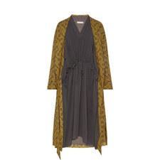 Polka Print Dress