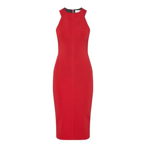 Cutaway Sleeveless Dress, ${color}