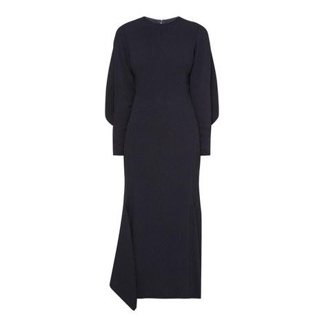 Drape Sleeve Dress, ${color}