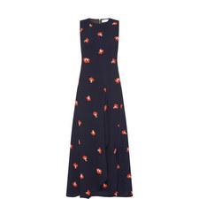 Racerback Drape Midi Dress