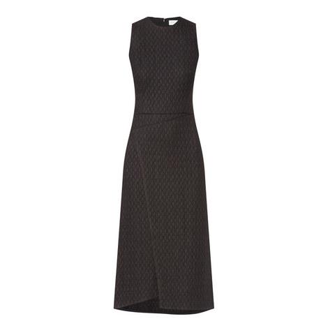 Wrap Drape Midi Dress, ${color}