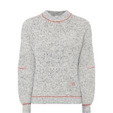 Drop Sleeve Sweater