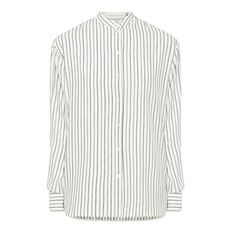 Striped Grandad Shirt, ${color}