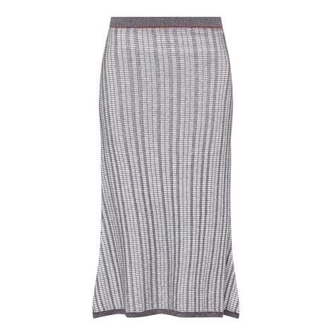Textured Full Skirt, ${color}