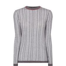 Textured Round Neck Sweater