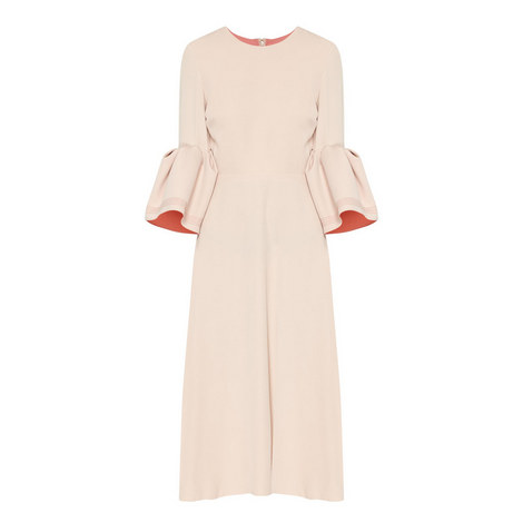 Puff Sleeve Dress, ${color}