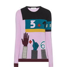 Counting Fingers Knit Sweater