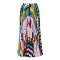 Counting Fingers Pleated Skirt, ${color}