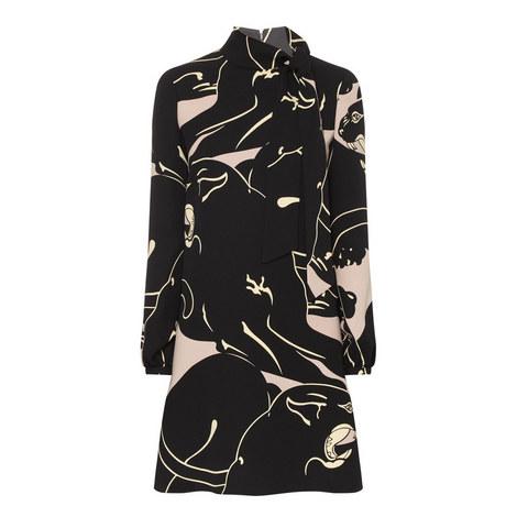 Panther Print Dress, ${color}