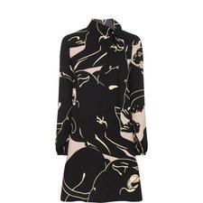 Panther Print Dress