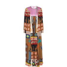 Counting Fingers Pleated Dress