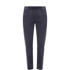 Tapered Stitched Trousers