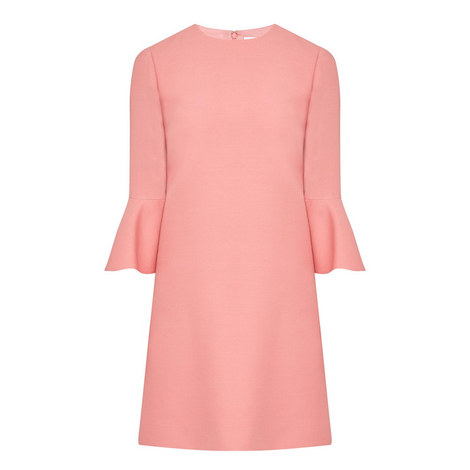 Flared Cuff Dress, ${color}