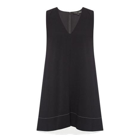 Cross Tie Sleeveless Dress, ${color}