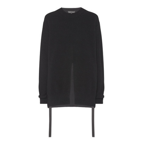 Split Front Sweater, ${color}
