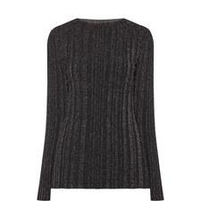 Long Sleeve Lurex Top