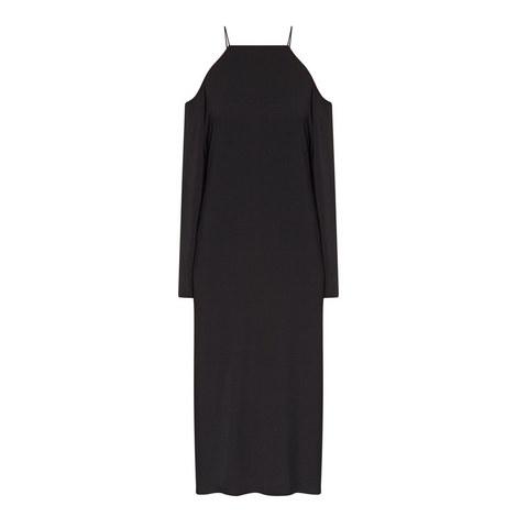 Ikeda Cold-Shoulder Midi Dress, ${color}